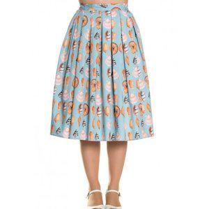 Hell Bunny Vixen Maya Bay Seashell Full Skirt
